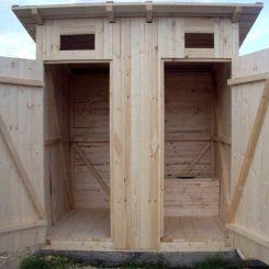 Туалет на дачном участке дизайн фото