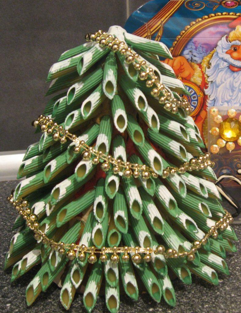 Новогодняя ёлка своими руками из подручных материалов фото