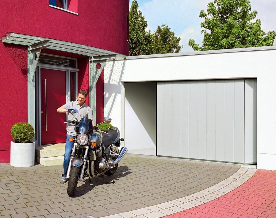 Построить гараж во дворе