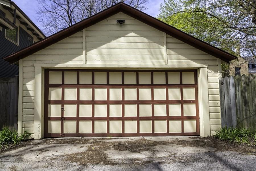 Чертеж гаража на 2 машины