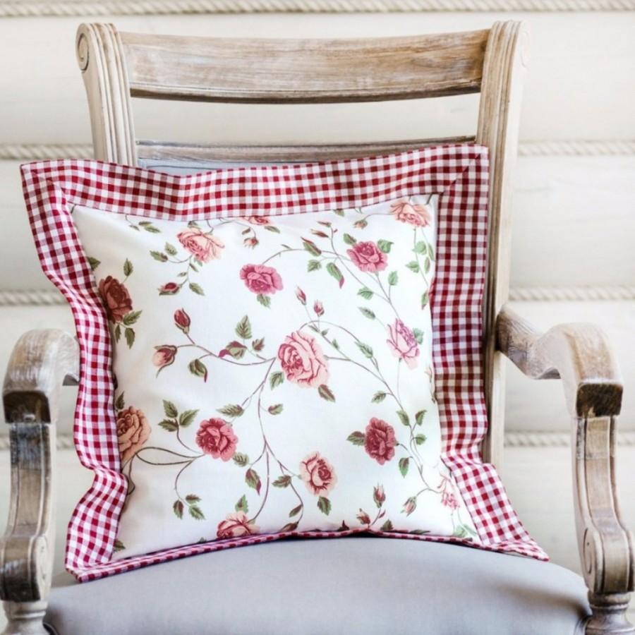Наволочка для диванных подушек своими руками