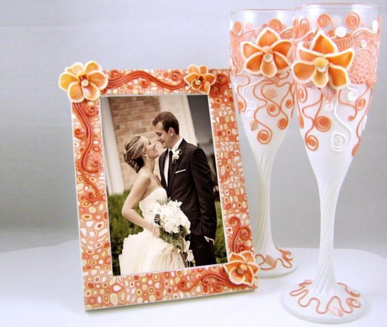 Как сделать фоторамку на свадьбу