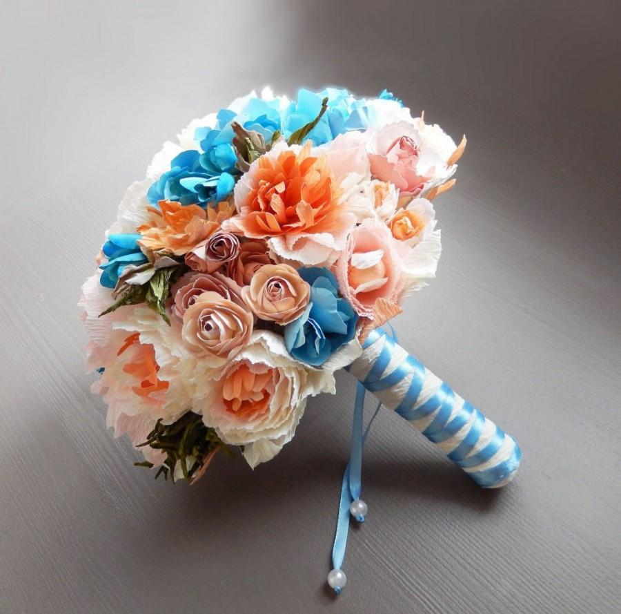 Как закрепить бумаги из цветов